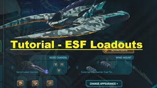 Planetside 2 - Flying Tutorial - ESF loadouts - A2A and A2G
