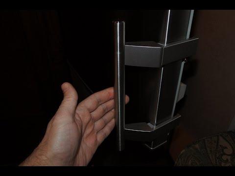 Как снять ручку с холодильника либхер видео