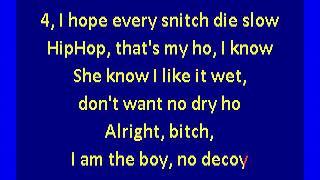 Lil' Wayne - Upgrade U Freestyle (karaoke)