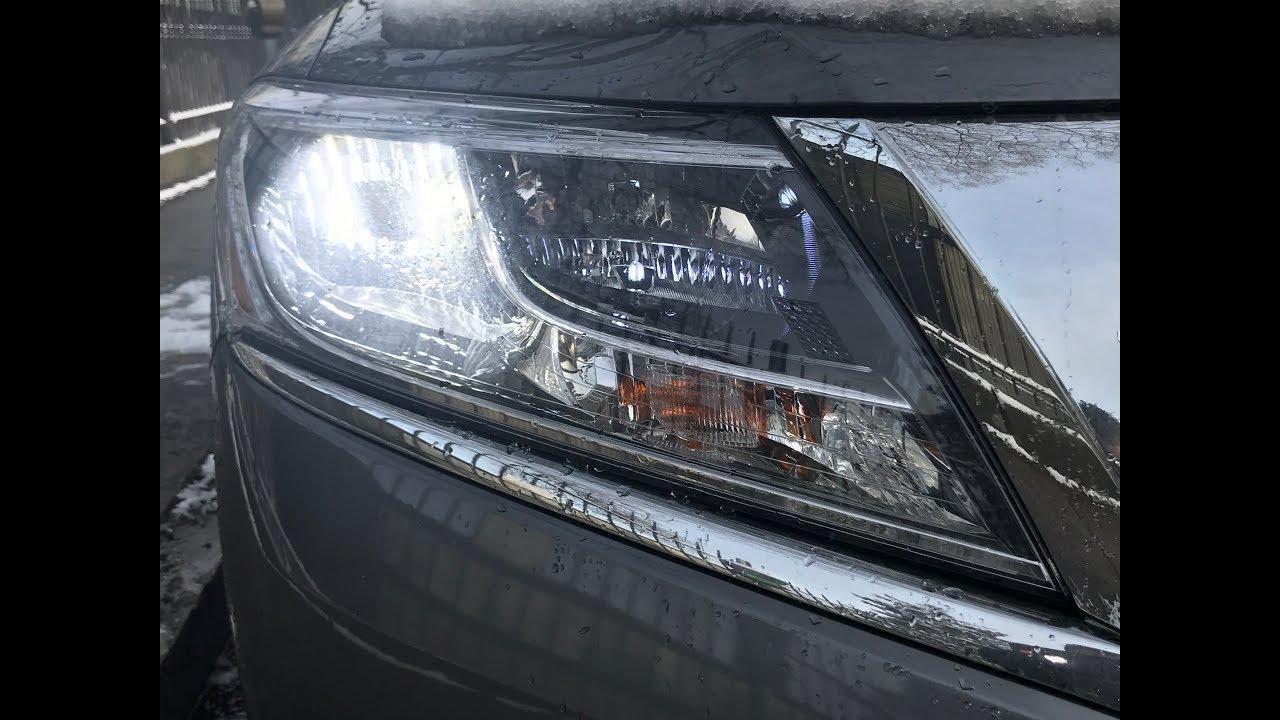 2016 Nissan Pathfinder Led Headlight Conversion