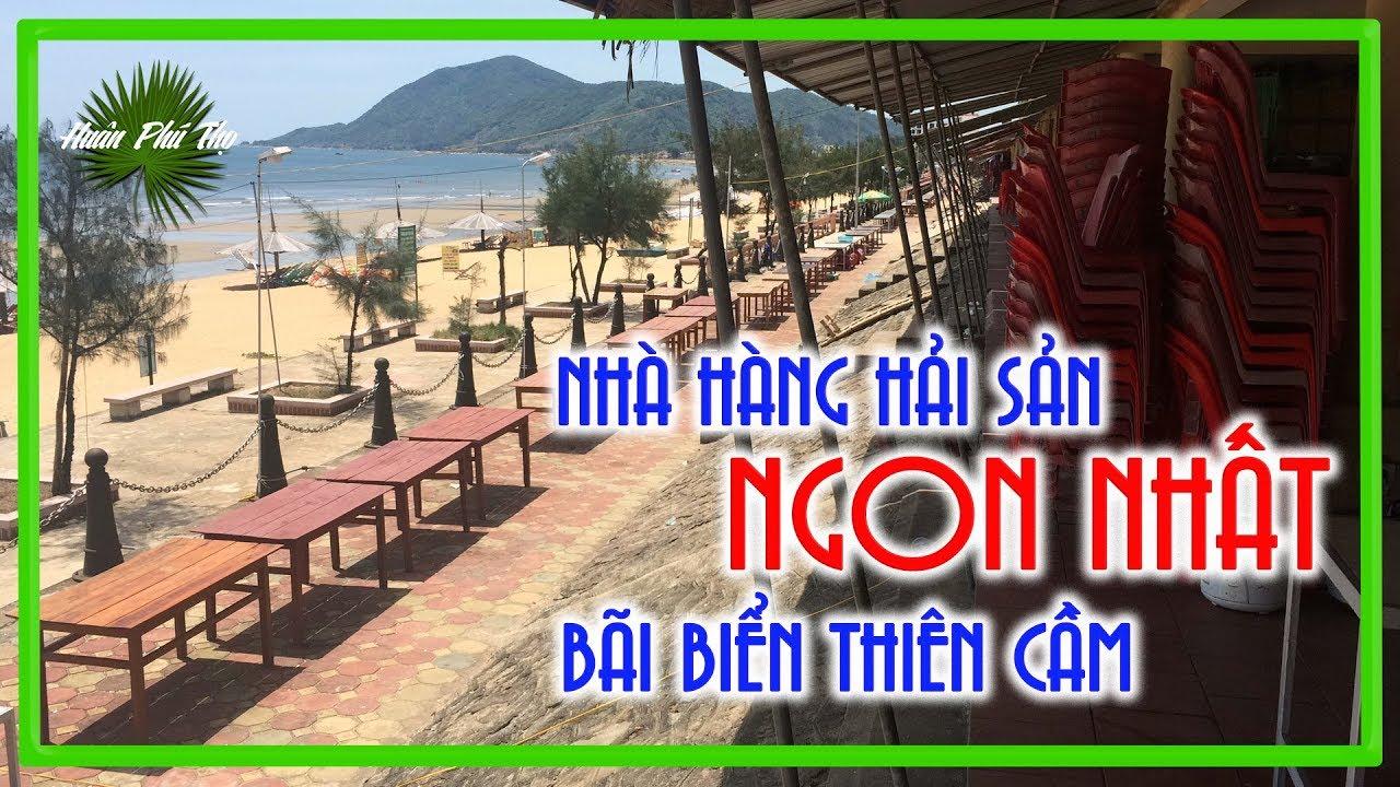 VIỆT YẾN, Nhà hàng Hải Sản Ngon Nhất Bãi Biển THIÊN CẦM Hà Tĩnh | Lang Thang Hà Tĩnh