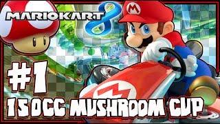 Mario Kart 8 Wii U Part 1 1440p 150CC Mushroom Cup