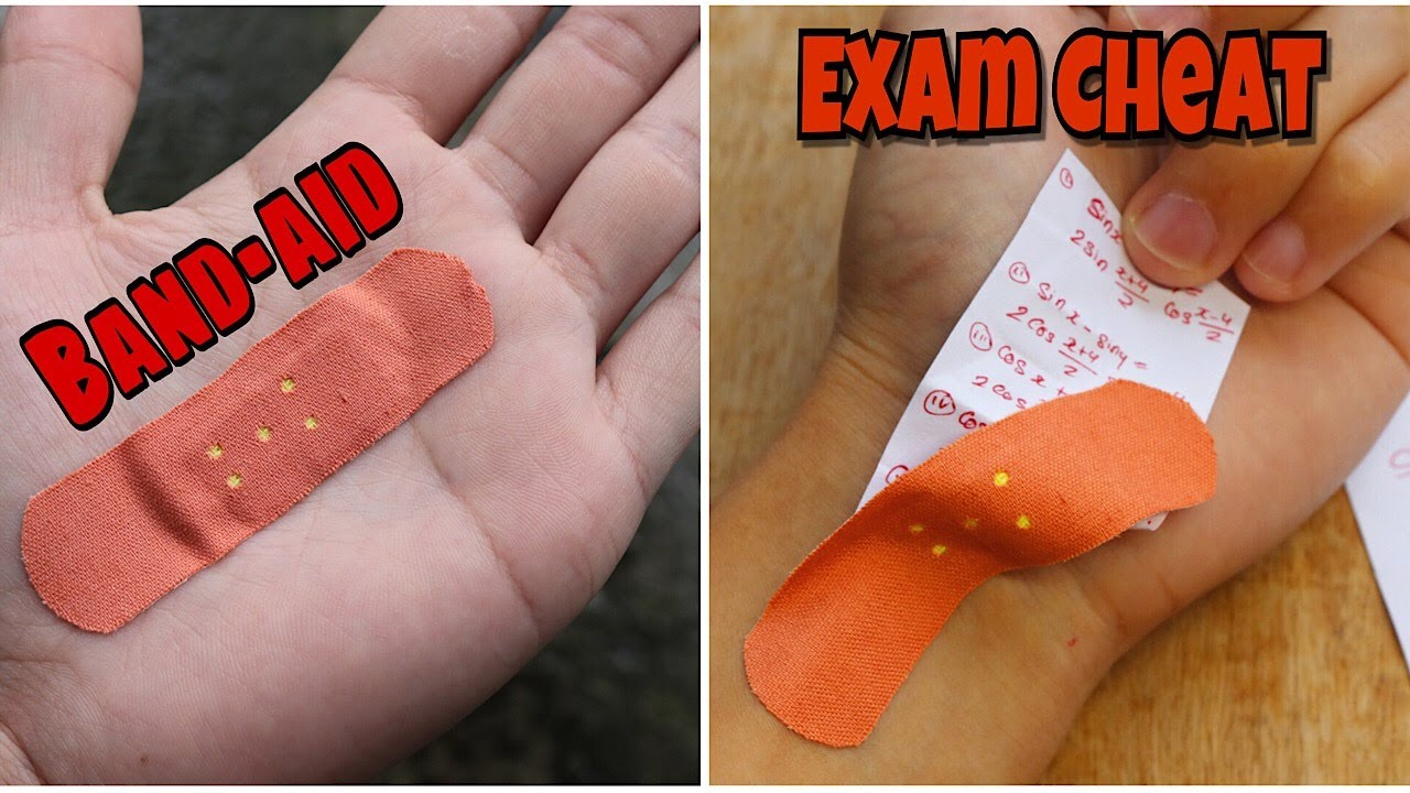5 Ways to CHEAT in Exams | Life Hacks