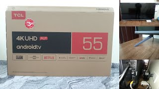 TCL 55 INCH 4K UHD ANDROID TV REVIEW - 55P8E