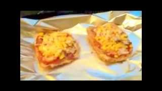 "Bread Pizza! - ""extremely Basic Recipes"" Series"