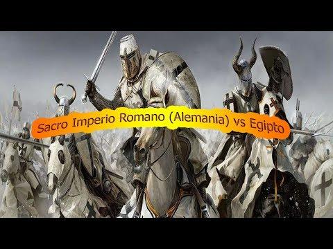Medieval 2 Total War | Sacro Imperio Romano vs Egipto
