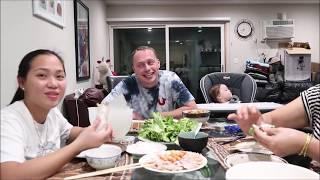 Vlog 346 ll Thịt Heo Cuốn Bánh Tráng Tại Nhà Ở Mỹ, ĐậM Đà Bản Sắc Dân Tộc
