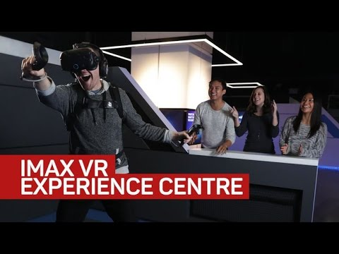 Inside Imax's first virtual reality arcade