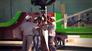 Vicem Vulcan 46 mt: behind the scene of a luxury superaycht construction