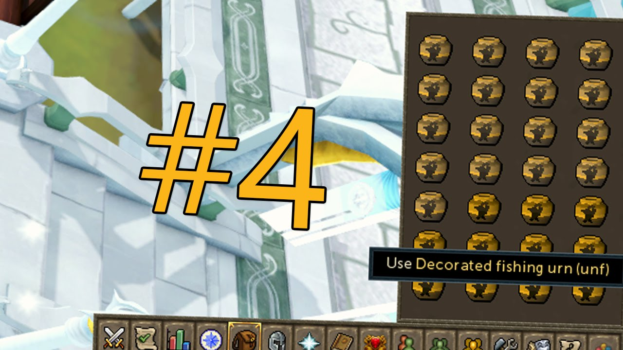 RuneScape Money Making - #4 Making Decorated Fishing Urns - YouTube