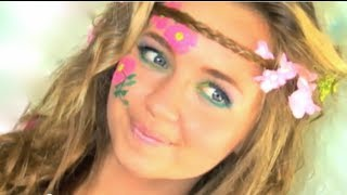 hippie hair makeup tutorial in under 2 minutes i. Black Bedroom Furniture Sets. Home Design Ideas