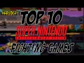 Top 10 Super Nintendo Fighting Games