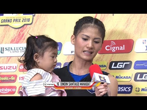 Match MVP: Dindin Santiago Manabat | PSL Grand Prix 2018