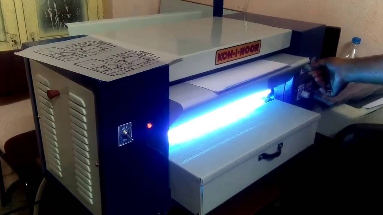 Ammonia Printing Machine Youtube