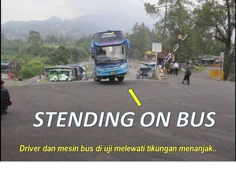 kumpulan-bus-keluar-parkiran-taman-matahari-puncak!