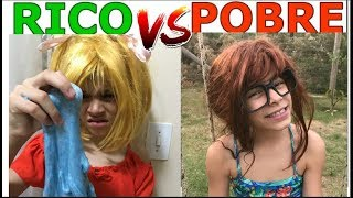 RICO VS POBRE FAZENDO AMOEBA / SLIME #11