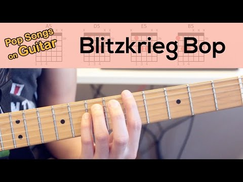 Blitzkrieg Bop | Ramones | Learn on Guitar | Video | Lesson