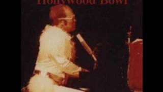 Elton John - Teacher I Need You (Live @ The Hollywood Bowl 9/7/73 audio only)