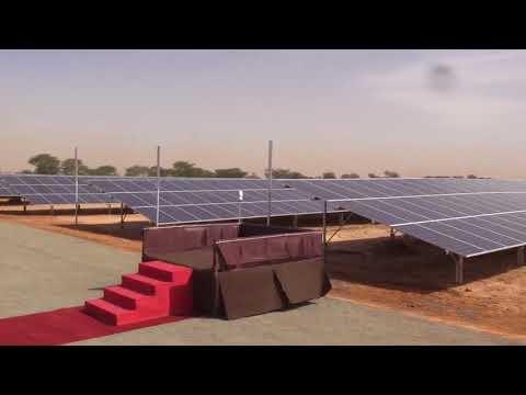 Thies: inauguration de la centrale solaire de Mérina Ndakhar
