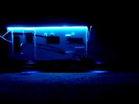 5050 RGB LED Strip Lights On 2011 Coachman Freedom Express