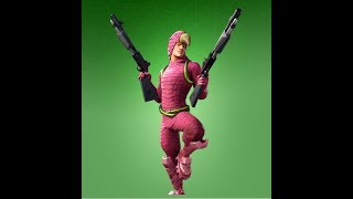 NOUVEAU FORTNITE KING FLAMINGO SKIN AND LAWNBREAKER HARVESTING TOOL! NOUVEAU SKINS FORTNITE!