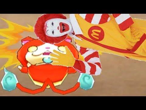 【MAD】ドナルド VS ジバニャン【妖怪ウォッチ】