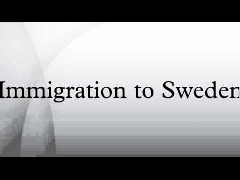 Immigration to Sweden