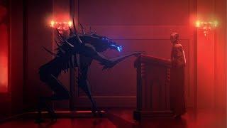 Castlevania - Netflix - Demon (Blue Fangs) Inside of Church (Full Scene)