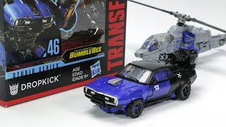 Transformers Movie Bumblebee Studio Series SS-46 Dropkick Car Helicopter Robot Toys