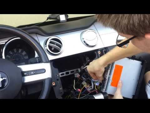 How To Remove Stereo 2005-2009 Mustang