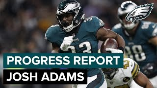 RB Josh Adams' Role Expanding: Progess Report | Philadelphia Eagles