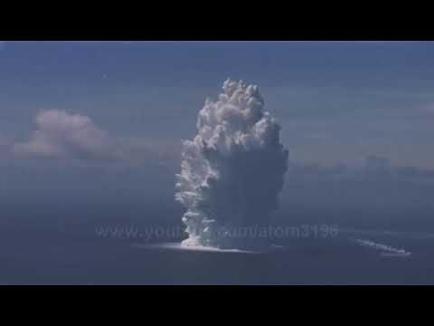 اقوى  انفجارات نووية صنعتها البشرية