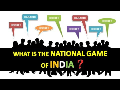 What is the National Game of INDIA..??????...    True fact of India..