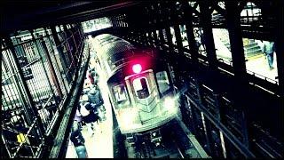 Action-packed IRT Subway Rush: (4) (5) & (6) Trains