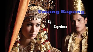 Download Lagu Umang Bapang - Supratman, Gitar Tunggal Sumatera Selatan, Semende mp3