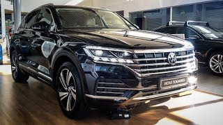 VOLKSWAGEN TOUAREG 2019 in depth review - Exterior & Interior (281 HP TDI ATMOSPHERE)