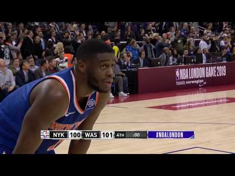 New York Knicks Lose To Washington Wizards On Last Second Goaltending Call In London