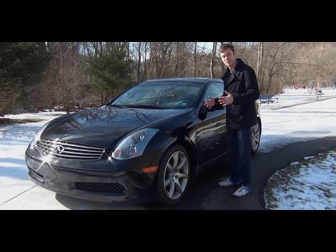 Review: 2005 Infiniti G35 Coupe