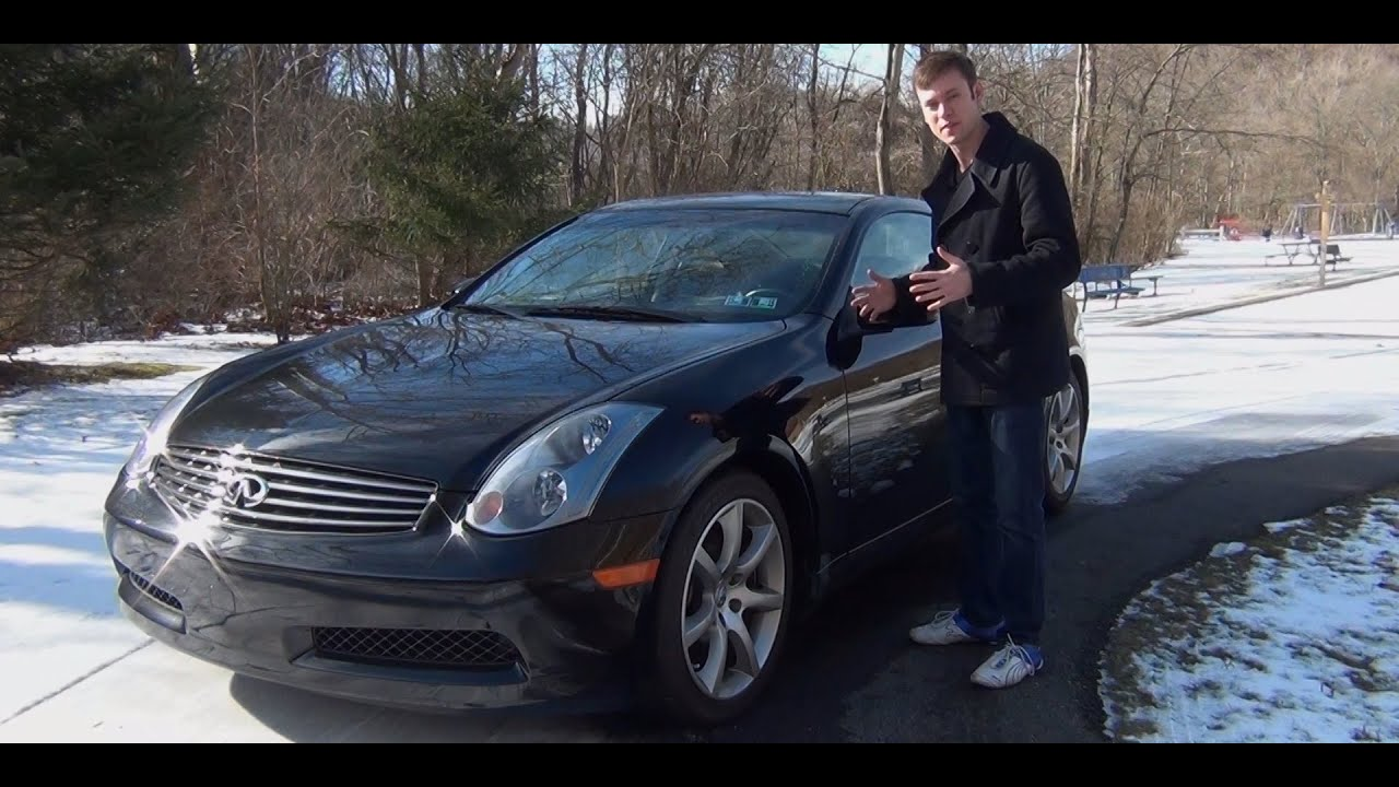 Review: 2005 Infiniti G35 Coupe   YouTube