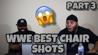 WWEs Best Chair Shots (Part 3) (REACTIONS) 😱