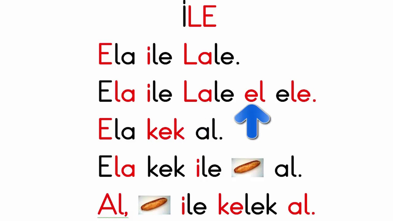 Dik temel harfler Ela ile Lale el ele. - YouTube