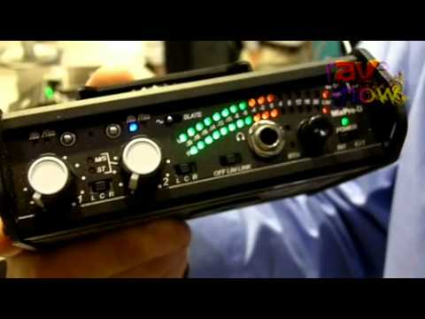 infocomm 2011 sound devices introduces the mixpre d portable 2 channel audio mixer youtube. Black Bedroom Furniture Sets. Home Design Ideas