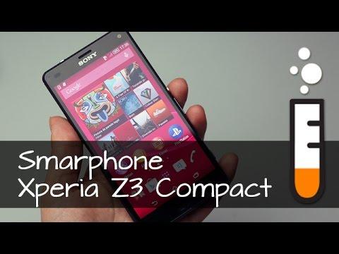 Xperia Z3 Compact Smartphone Sony D5833 - Vídeo Resenha Brasil