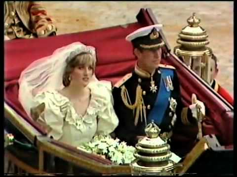 Royal Wedding Ceremony of Charles Diana 8 8 - YouTube