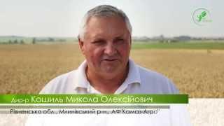 №2 Производственное применение биотехнологии на озимой пшенице