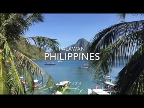 El Nido, Palawan, Philippines Vacation 2016