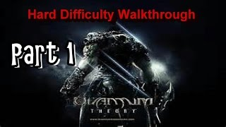 Quantum Theory HARD Walkthrough Part 1 PS3