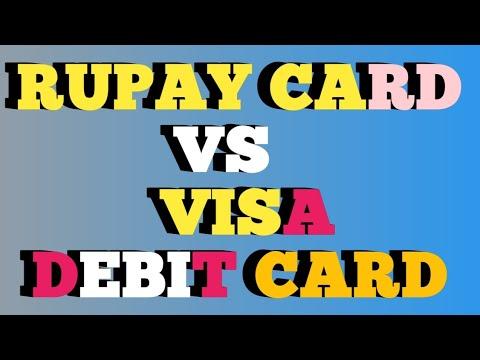 Rupay Card Visa Debit Vs Benefits Of And Credit
