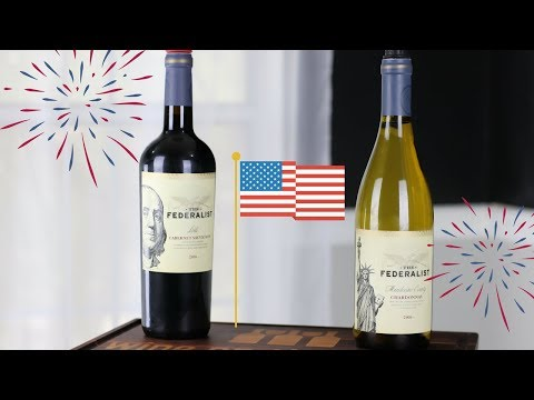 4th of July Wine Reviews! The Federalist Chardonnay and Cabernet Sauvignon