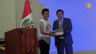 Tema: FISI Inaugura Periodo Académico 2016 I Completo